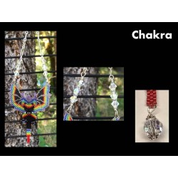 Chakra Dragon Sun Catcher or Ornament