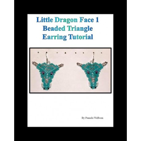 Triangle Dragon Face 1 Beading Tutorial
