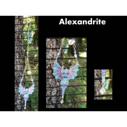 Alexandrite the Dragon Sun Catcher or Ornament
