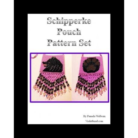 Schipperke Pouch Pattern Beading Pattern