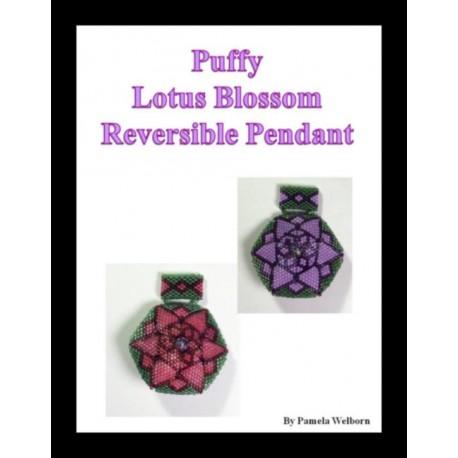 Puffy Lotus Blossom Pendant Tutorial