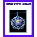 Flower Power Pendant PATTERN