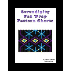Serendipity G2 Beaded Pen Wrap