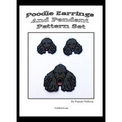 Poodle Pattern Set Beading Patterns