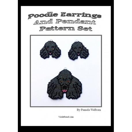 Poodle Pattern Set Beading Patterns