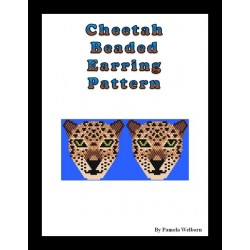Cheetah Earring Beading Patterns