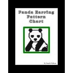 Panda Earring Beading Pattern