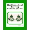 Marijuana Earring Beading Pattern