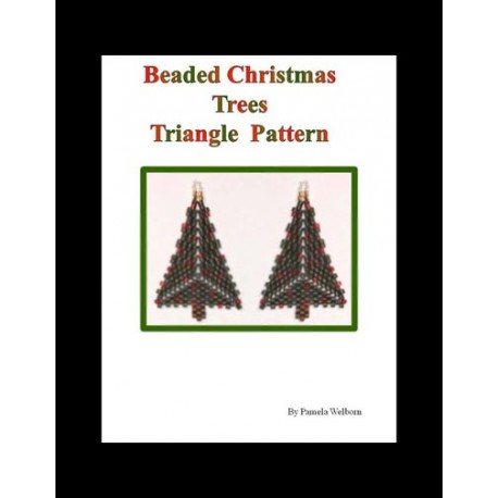 Triangle Christmas Tree Earrings Tutorial