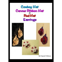 BEADED Cowboy, Awarness Ribbon OR Red Hat Earring Tutorial