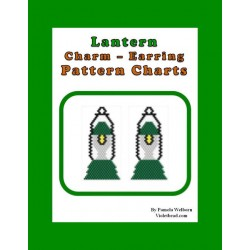 Lantern Earring Beading Pattern