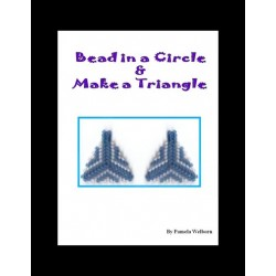 Bead in a Circle and make a Triangle (earring) Tutorial