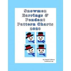 Snowmen 2020 Earring/Pendant Patterns Set