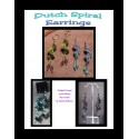 Dutch Spiral Beaded Earrings Tutorial