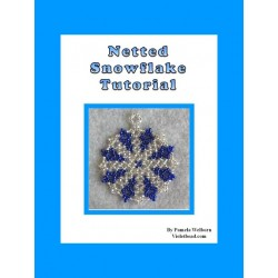 Netted Snowflake Flat Ornament tutorial