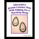 Teardrop Alternative Dream Catcher with edging Tutorial