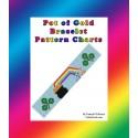 Pot of Gold Bracelet Bead Pattern Chart