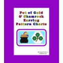 Shamrock and Pot of Gold Earring Pattern Set Beading Patterns
