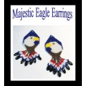 Majestic Eagle Earring Patterns Chart