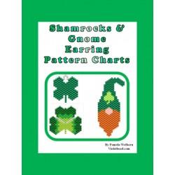 Shamrocks n Gnome Earring Pattern Set Beading Patterns