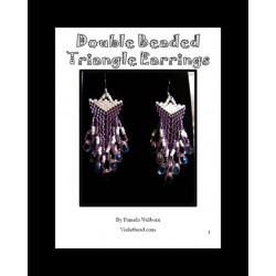 Double Beaded Triangle Earrings Tutorial