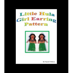 Hula Girl Earrings Bead Pattern Chart