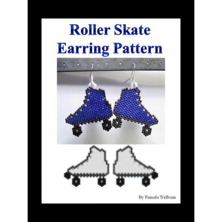 Roller Skate Earring Beading Pattern
