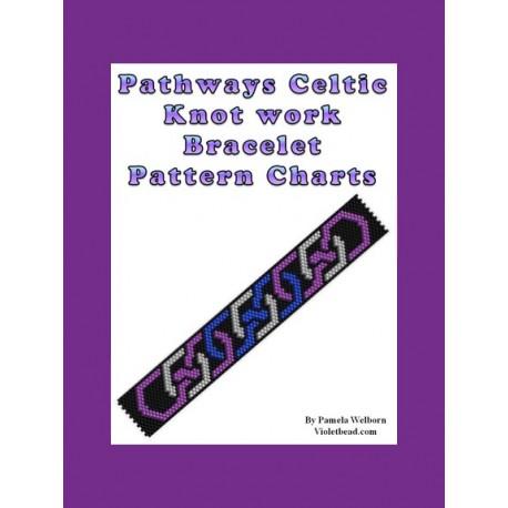 Pathways Celtic Knot work Bracelet Bead Pattern Chart