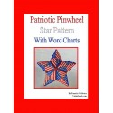 Patriotic Pinwheel Star Pattern Pendant or Ornament pattern