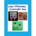The Ultimate Triangle Super Set Instant Downloadable Tutorials & Patterns