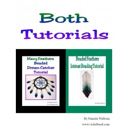 Both the Dream Catcher and the Feather Tutorials together!!!