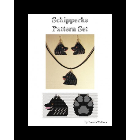 Schipperke Pattern Set Beading Patterns