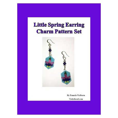 Little Spring Earring Charm Pattern Set
