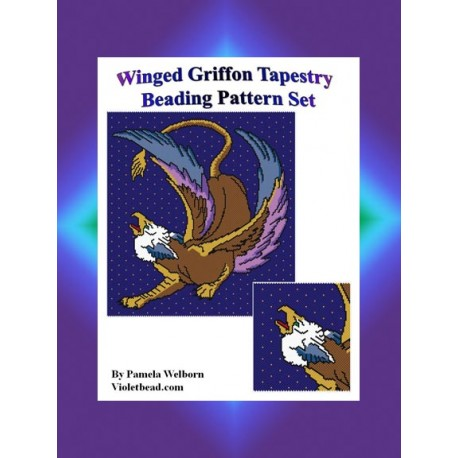 Winged Griffon Tapestry Pattern SetCatalog  Products