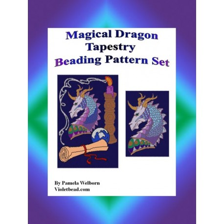 Magical Dragon Tapestry Pattern Set