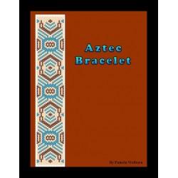 Aztec Bracelet Bead Pattern Chart