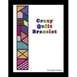 Crazy Quilt Bracelet Bead Pattern Chart