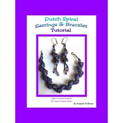 Dutch Spiral Beaded Earrings and Bracelet Tutorial