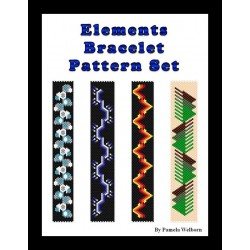 Elements Bracelet Patterns with word charts