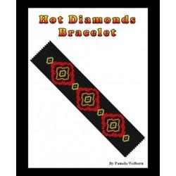Hot Diamonds Bracelet Bead Pattern Chart