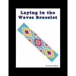 Layin in the Waves Bracelet Bead Pattern