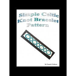 Simple Celtic Knot Bracelet Pattern Chart