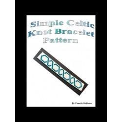 Simple Celtic Knot Bracelet Pattern Chart