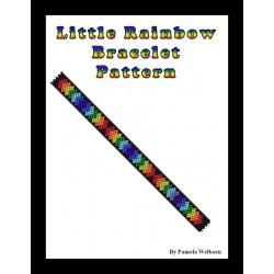 Little Rainbow Bracelet Bead Pattern Chart
