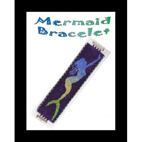 Mermaid Bracelet Bead Pattern Chart