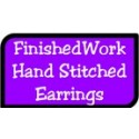 Hand Stitched Earrings