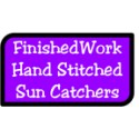 Hand Stitched Sun Catchers