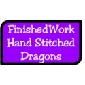 Hand Stitched Dragons